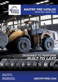 catalog download sentry tire usa solid tire and pneumatic tire