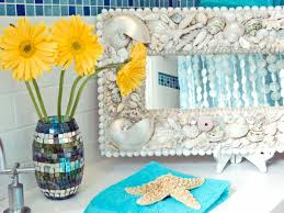 seashell bathroom decor ideas pictures tips from hgtv hgtv seashell bathroom decor ideas