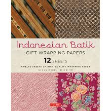 indonesian batik gift wrapping papers gift wrapping paper