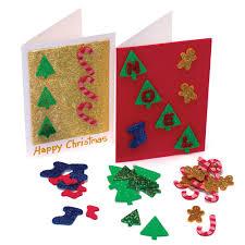 glitter christmas sticker pack christmas cards blanks from