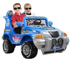 big foot monster truck 12 volt ride toys