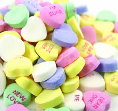 valentines hearts candy classic conversation hearts 2 lbs candy