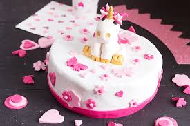 design a cake unicorn birthday cake cake design a girl cuisine