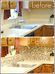 Kitchens With Tile Backsplashes Remove Laminate Counter Backsplash And Replace With Tile