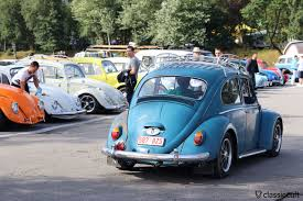 volkswagen bug light blue le bug show 2016 vw meeting spa belgium classiccult