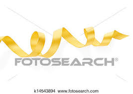 curly ribbon stock photo of golden curly ribbon k14543894 search stock images