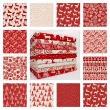 nordic christmas fabric ebay