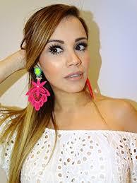 big ear rings pink lace earrings neon earrings lace jewelry chandelier