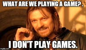 Play All The Games Meme - one does not simply meme imgflip