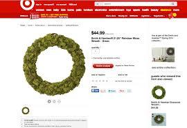 reindeer moss wreath diy home sweet blog