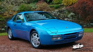 lifted porsche 944 944 s2 turquoise blue