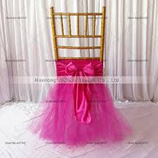 tutu chair covers 5pcs new desgin tutu tulle chiavari chair sash tutu chaiur skirt