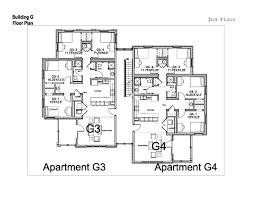 apartment floorplans village apartments washington and lee university