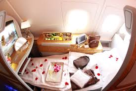 Emirates Airbus A380 Interior Business Class See What Makes Emirates Airline First Class So Exclusive