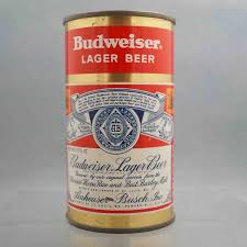 beer can cake budweiser lager 44 6 flat top beercan