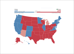 Ohio Map Us by State By State Election Results Politicker