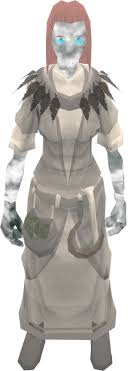 druidic robes ghostly druid robe top runescape wiki fandom powered by wikia