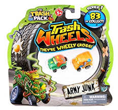 amazon trash pack wheels 2 trashies toys u0026 games