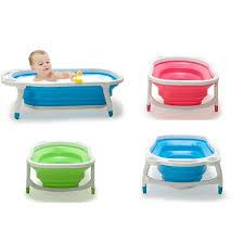 Portable Bathtub For Kids Portable Foldable Baby Bathtub Kid Bather Space Saving Bath Tub 3