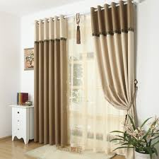 Blackout Drapery Fabric 95 Blackout Thick Window Curtain Fabric For Bedroom Linen Lace