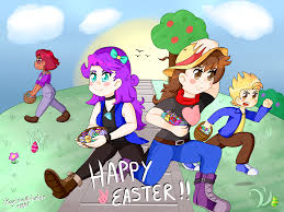stardew valley easter 2017 by ikeychain on deviantart