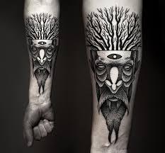 powerful and bold mesmerizing black ink tattoos designtaxi com