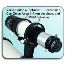 iv finder baader vario finder 61mm f 4 modular erect image finder scope