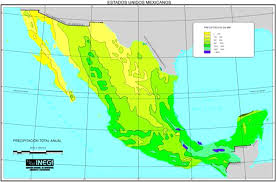 Northern Mexico Map by A Satellite Survey Of Cloud Cover And Water Vapor In The