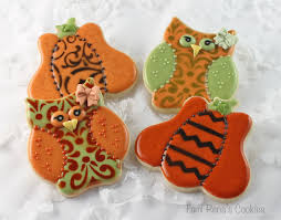 how to decorate owl cookies for halloween youtube