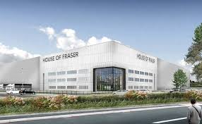 plans for a house of fraser distribution centre in peterborough