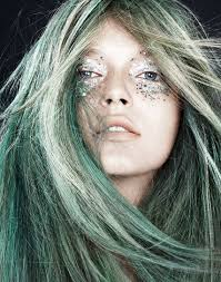 looking for makeup artist makeup ideas that are scary looking green hair