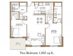 2 Bedroom House Plan Indian Style by Modern Two Bedroom House Plans Floor Plan At Northview Apartment