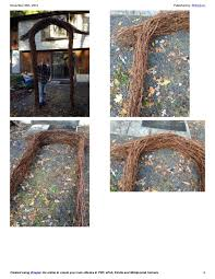 wedding arches how to make how to make a grapevine wedding arch the steps