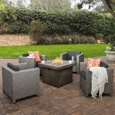 Rustic Patio Furniture Sets by Rustic Outdoor Furniture Wayfair