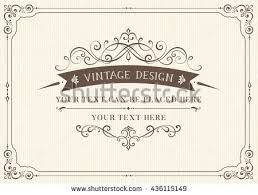 vintage cards vintage greeting cards with swirls and floral motifs