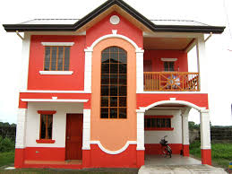 painted houses nicely painted house in baliuag bulacan house in bulacan pinterest