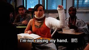 Raising Hand Meme - 10 cuddling positions that won t make your arm fall off pride com