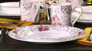 Corelle Plates Walmart Corelle Sincerely Yours 16 Piece Dinnerware Set Youtube