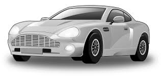 cartoon sports car black and white stranger in silver car approaching children schools give