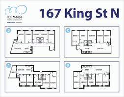 the marq floor plan the marq waterloo at 167 king street north ontario the marq