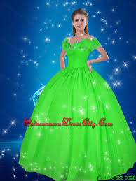 quince dresses new style gown cinderella quinceanera dresses in green 300 25