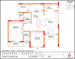 Sobha Jasmine Floor Plan Bangalore Properties Concorde Midway City