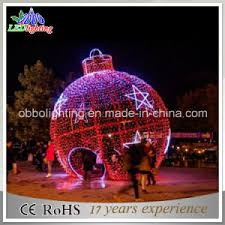 china commercial wholesale led outdoor decoration