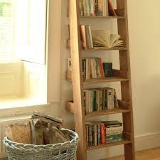 Ladder Shelving Unit Oak Ladder Shelf U2013 Ideal Home Show Shop