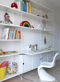 bureau bibliothèque intégré 42 idées déco de bureau pour votre loft