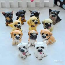 household partition ornaments 12 dogs resin model