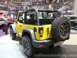 jeep yellow 2015 jeep wrangler rubicon rocks star 2015 geneva live