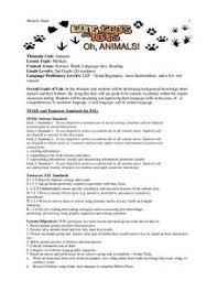 animals and their habitats lesson plans u0026 worksheets