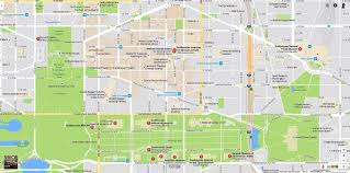 Printable Street Map Of Washington Dc by Smithsonian Museums Map And Directions
