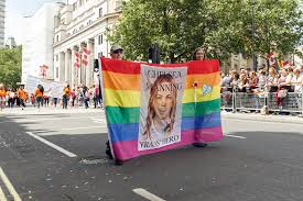 file pride in london 2016 chelsea manning banner in the parade